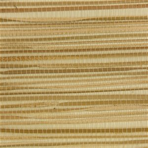 Papier peint Falkirk Elgin de Dundee Deco en toile de ramie 3D, 54 pi² beige pâle et brun sans colle à appliquer sur le mur