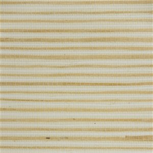 Papier peint Falkirk Elgin de Dundee Deco en toile de ramie 3D, 54 pi² beige pâle et foncé sans colle à appliquer sur le mur