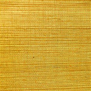Papier peint Falkirk Elgin de Dundee Deco en toile de ramie 3D, 54 pi² jaune moutarde sans colle à appliquer sur le mur