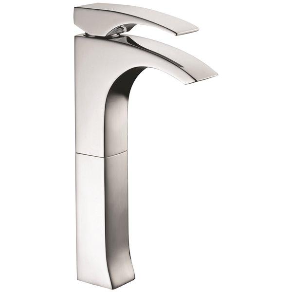 Robinet de salle de bains pour vasque Rosario d'Agua Canada, levier unique, chrome, plaque comprise