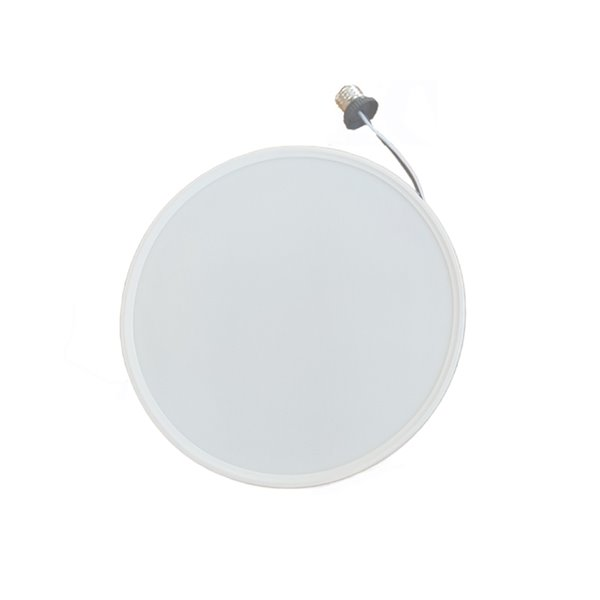 Plafonnier blanc à DEL intégrée de 10 po par TorontoLed