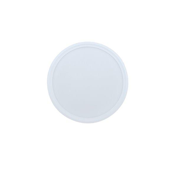 Plafonnier blanc à DEL intégrée de 7 po par TorontoLed