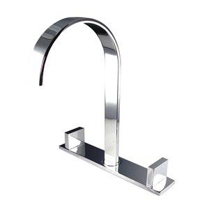 Fresca Sesia Chrome 1-handle Single Hole Watersense Labeled Bathroom Sink Faucet