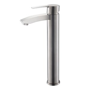 Fresca Livenza Brushed Nickel 1-handle Single Hole Watersense Labeled Bathroom Sink Faucet