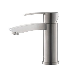 Fresca Livenza 1-handle Single Hole Watersense Labeled Bathroom Sink Faucet - Brushed Nickel