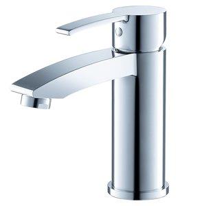 Fresca Livenza Chrome 1-handle Single Hole Watersense Labeled Bathroom Sink Faucet