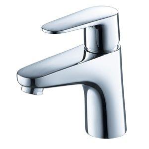 Fresca Diveria Chrome 1-handle Single Hole Watersense Labeled Bathroom Sink Faucet