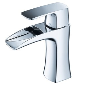 Fresca Fortore Chrome 1-handle Single Hole Watersense Labeled Bathroom Sink Faucet