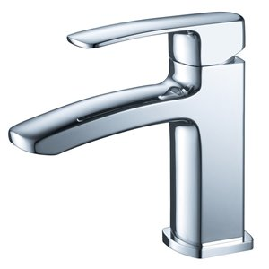 Fresca Fiora 1-handle Single Hole Watersense Labeled Bathroom Sink Faucet in Chrome