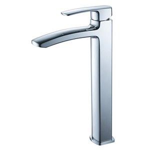Fresca Fiora Chrome 1-handle Single Hole Watersense Labeled Bathroom Sink Faucet