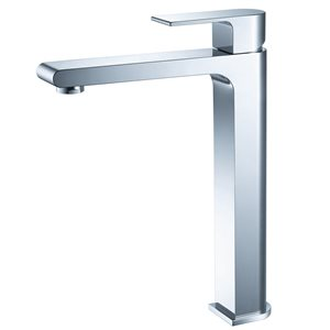 Fresca Allaro Chrome 1-handle Single Hole Watersense Labeled Bathroom Sink Faucet