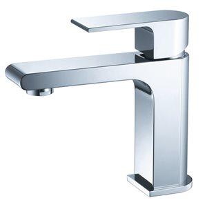 Fresca Allaro 1-handle Single Hole Watersense Labeled Bathroom Sink Faucet in Chrome