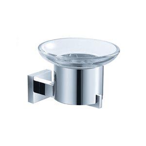 Fresca Glorioso Chrome Brass Round Soap Dish