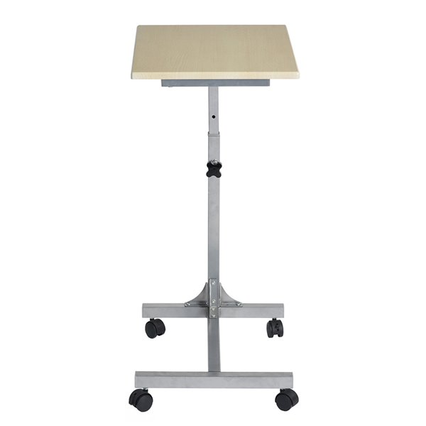 Table pour ordinateur à hauteur réglable de 18,9 po Bello en bois par FurnitureR