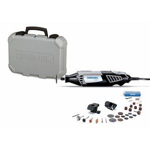 Dremel 32-piece Variable Speed 1.6-amp Multipurpose Rotary Tool with Hard Case