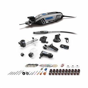 Dremel 76-piece Variable Speed 1.8-amp Multipurpose Rotary Tool with Hard Case