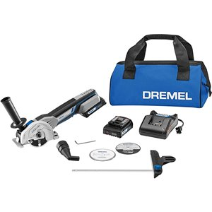 Dremel 8-piece 1-speed 20-volt Max Multipurpose Rotary Tool with Soft Case