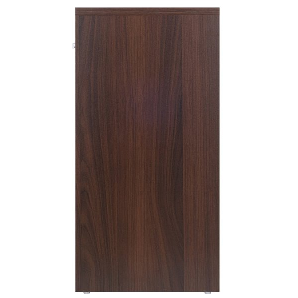 Table d'appoint en bois rectangulaire Astra, couleur cacao, par Winsome Wood