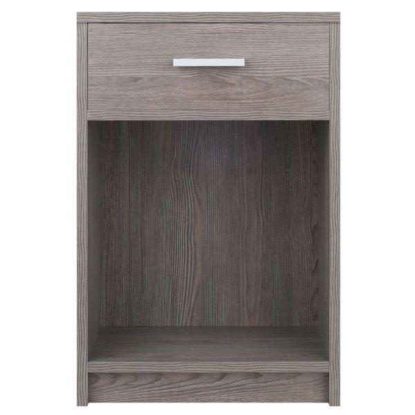 Table d'appoint en bois rectangulaire Rennick, couleur cendre, par Winsome Wood