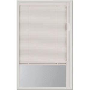 Fenêtre à stores intégrés Blink, blanche, faible émissivité, 22 po x 36 po x 1 po