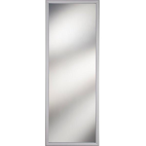 Fenêtre à 1carreau, transparent, faible émissivité, 22 po x 64 po x 1 po, cadre blanc