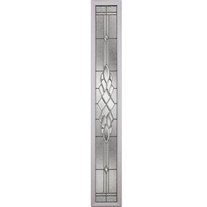 Grace Low-E Argon Glass with Nickel Caming 8-in x 64-in x 1-in Sidelight
