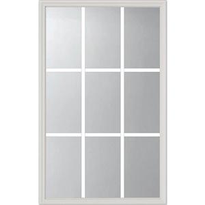 Fenêtre de porte à 9carreau po x  avec carrelage intégré, faible émissivité, 22 po x 36 po x 1 po
