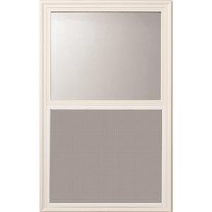 Fenêtre de porte décorative à Guillotine, faible émissivité, 22 po x 36 po x 1 po