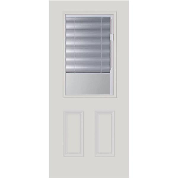 Fenêtre à stores intégrés Blink, argent lunaire, faible émissivité, 22 po x 36 po x 1 po