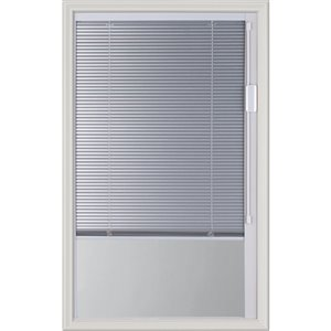 Blink Enclosed  Blinds - Premium Colour Silver Moon Blnds Low-E Door Glass 22-in x36-in x 1-in