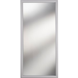 1-Lite Clear Low-E Glass 22-in x 48-in x 1-in with White Frame