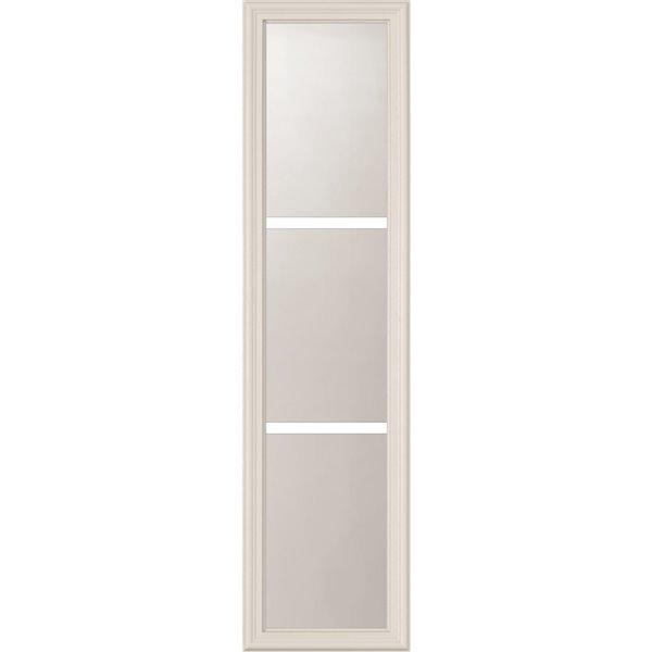 Fenêtre latérale à 3carreau po x  avec carrelage intégré, faible émissivité, 8 po x 36 po x 1 po