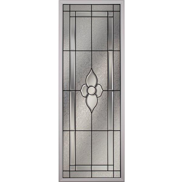 Fenêtre de porte Nouveau avec baguettes patine, faible émissivité + argon, 22 po x 64 po x 1 po