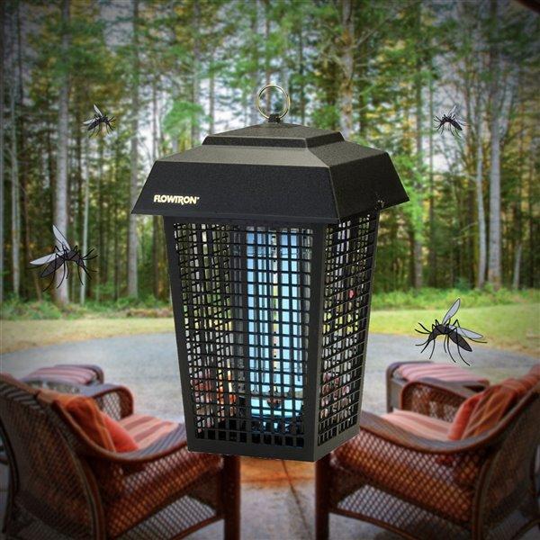 Tue-insectes électrique de Flowtron, 40 watts, 43 560 pi², noir