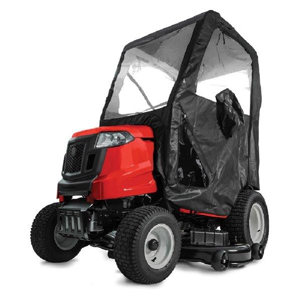 Cabine à neige avec cadre d'acier pour tracteurs de MTD Genuine Parts, noir