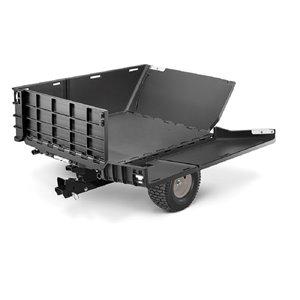 Arnold 10-cu ft Poly Dump Cart
