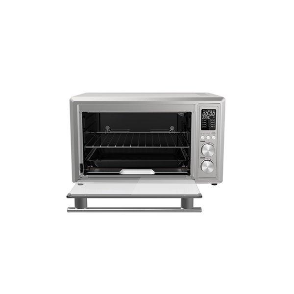 Four grille-pain à convection en acier inoxydable à 6 tranches Galanz avec fonction rôtissoire (1800 watts)