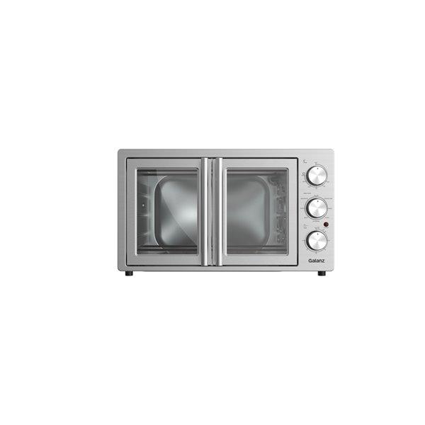 Four grille-pain à convectione à 6 tranches Galanz avec fonction rôtissoire en acier inoxydable (1800 watts)