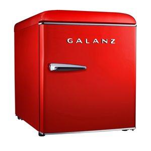 Mini réfrigérateur autoportant de 1,7 pi³ de Galanz (rouge)