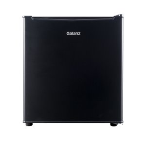 Galanz 1.7-cu ft Freestanding Mini Fridge Freezer Compartment (Black)