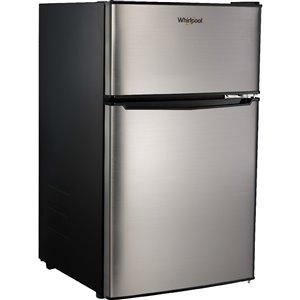Réfrigérateur à congélateur supérieur de 3,1 pi³ de Whirlpool (acier inoxydable)