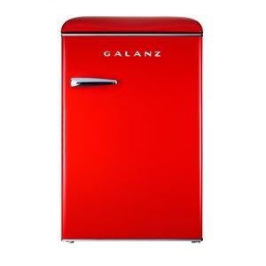 Congélateur vertical Galanz de 3,1 pi³ rouge