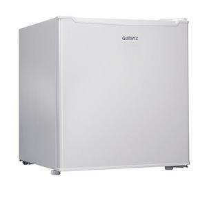 Galanz 1.7-cu ft Freestanding Mini Fridge Freezer Compartment (White)