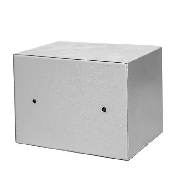 Coffre-fort en acier avec clavier numérique de Fine Art Living