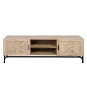 FurnitureR Bebou Oak TV Stand
