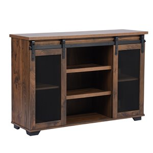 FurnitureR Newbarn Brown TV Stand
