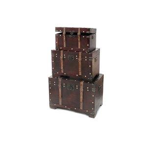 Coffres de rangement par IH CASADECOR en bois brun
