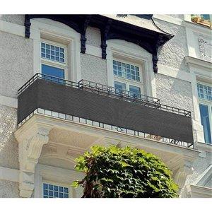 Toile d'intimité grise pour balcon par IH Casa Decor