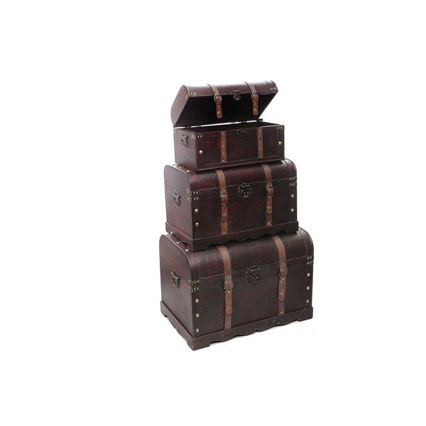 Coffres de rangement par IH CASADECOR (bois Brun)
