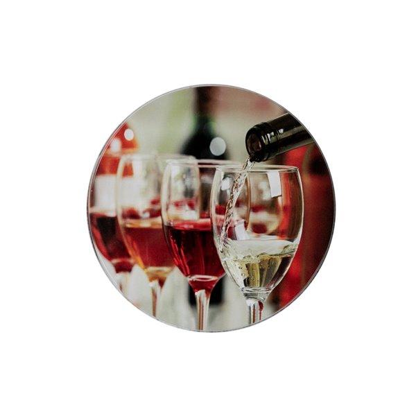 Couvercles de four versage de vin par IH Casa Decor, ens. de 4
